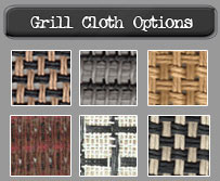 Grill Cloth Options